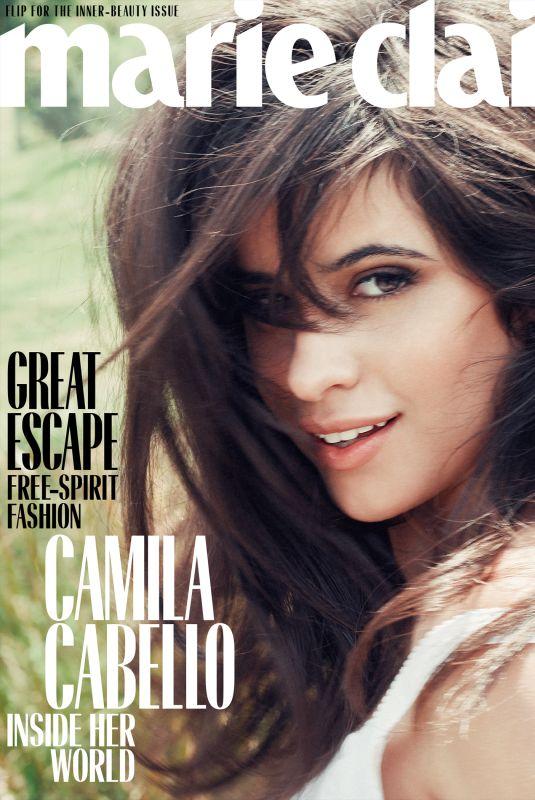 CAMILA CABELLO in Marie Claire Magazine, Holliday 2018 Issue