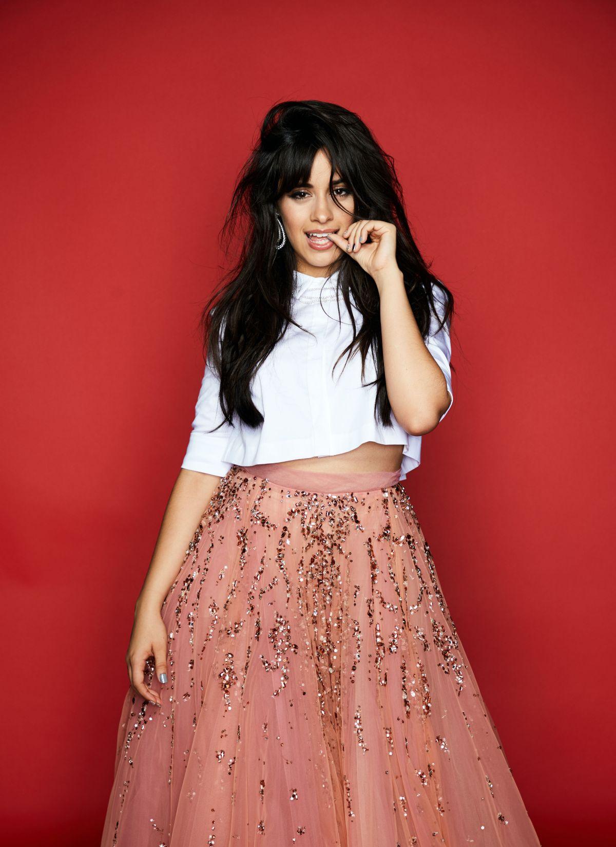 Camila Cabello Attends 102.7 KIIS FMs Jingle Ball in