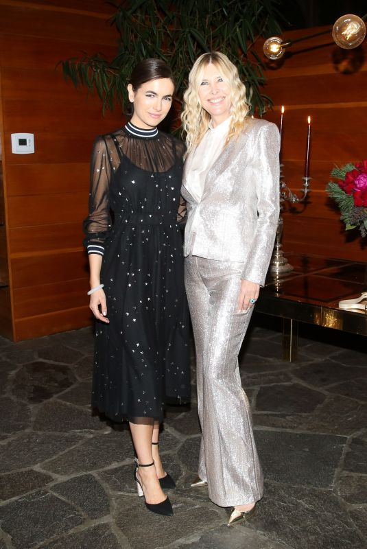 CAMILLA BELLE at Erica Pelosini x Naked Cashmere Holiday Dinner in Los Angeles 12/15/2018