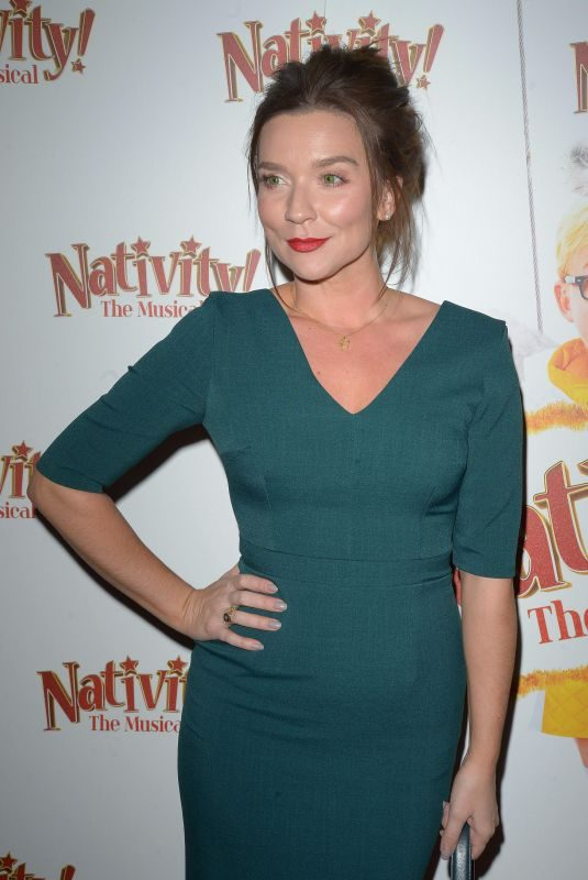 CANDICE BROWN at Nativity! The Musical Gala Night in London 12/20/2018