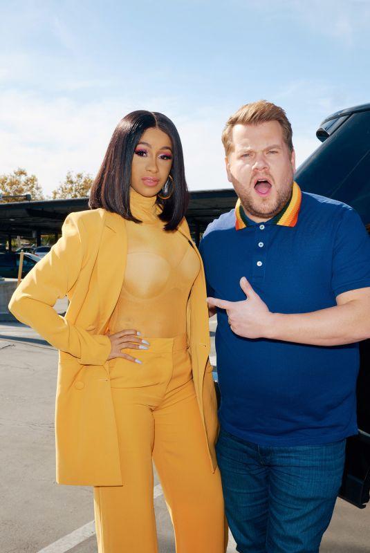 CARDI B - Carpool Karaoke with James Corden Promo Pictures