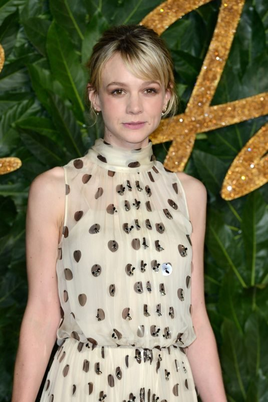 CAREY MULLIGAN at British Fashion Awards in London 12/10/2018