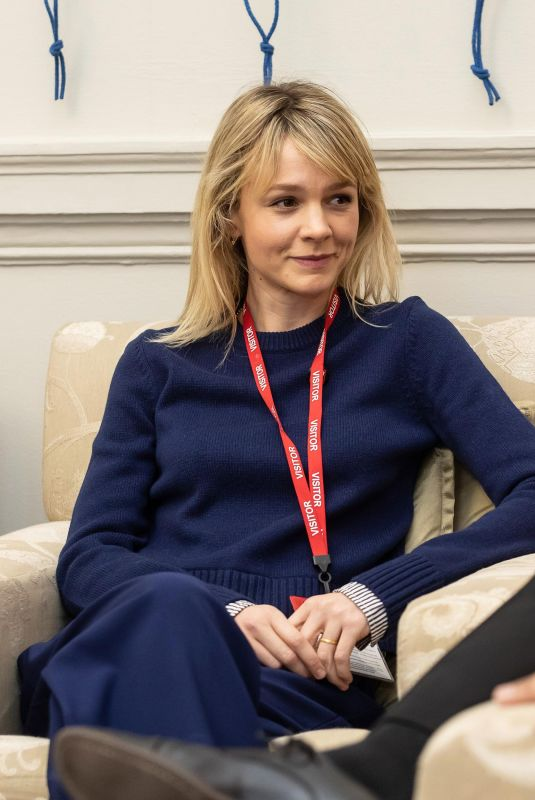 CAREY MULLIGAN at Foreign Office in London 12/18/2018