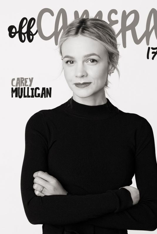 CAREY MULLIGAN for Off Camera Magazine, November 2018