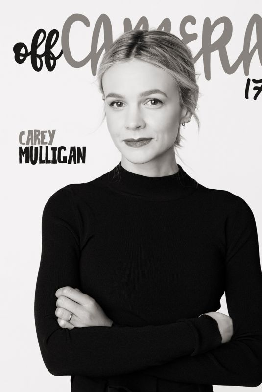 CAREY MULLIGAN for Off Camera Magazine, November 2018