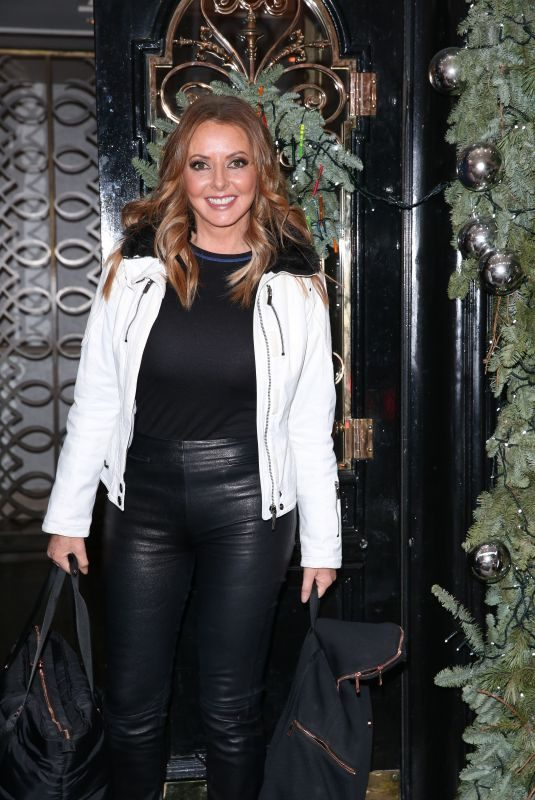 CAROL VORDERMAN at Scotts Restaurant in London 12/20/2018