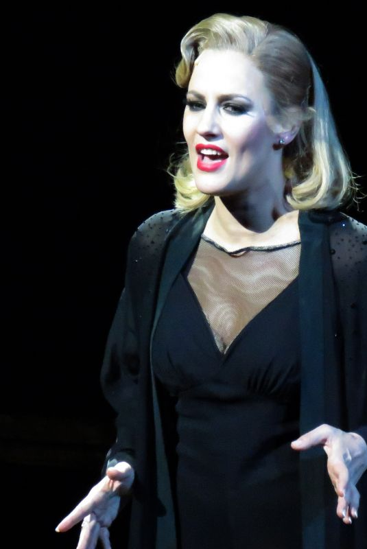 CAROLINE FLACK Performs in Chicago Musical at Phoenix Theatre in London 12/10/2018