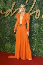 CAROLINE WINBERG at British Fashion Awards in London 12/10/2018