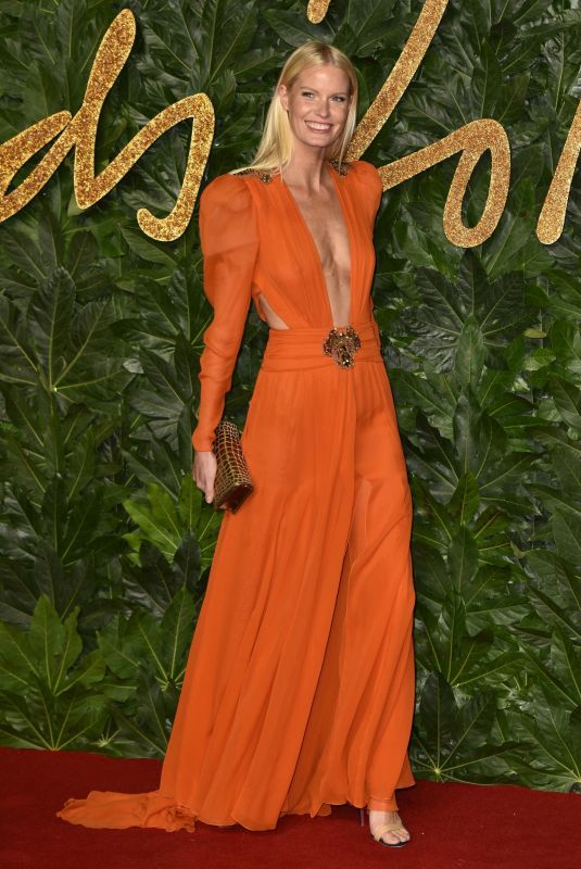 CAROLINE WINBERG at British Fashion Awards in London 12/10/2018