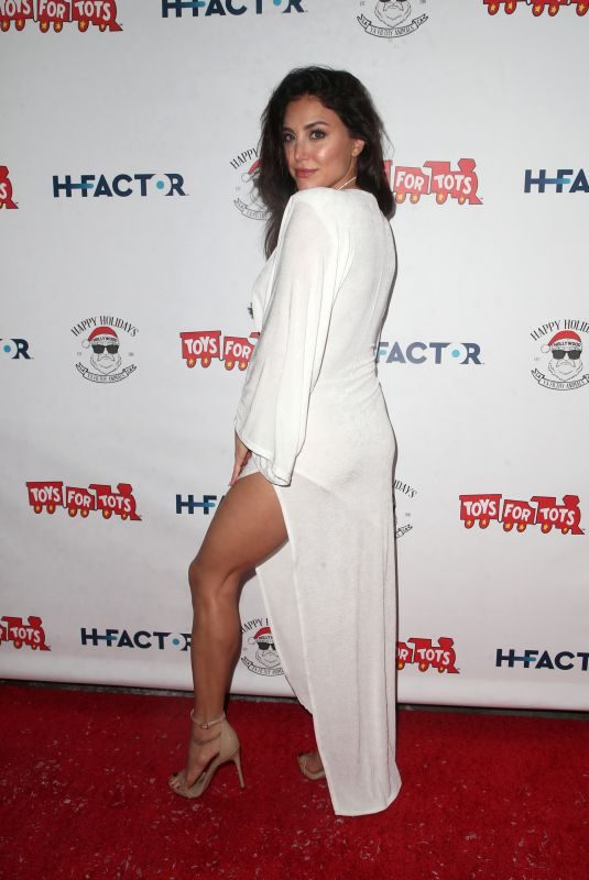 CASSIE SCERBO at Winter Wonderland Toys for Tots Party in Los Angeles 12/11/2018