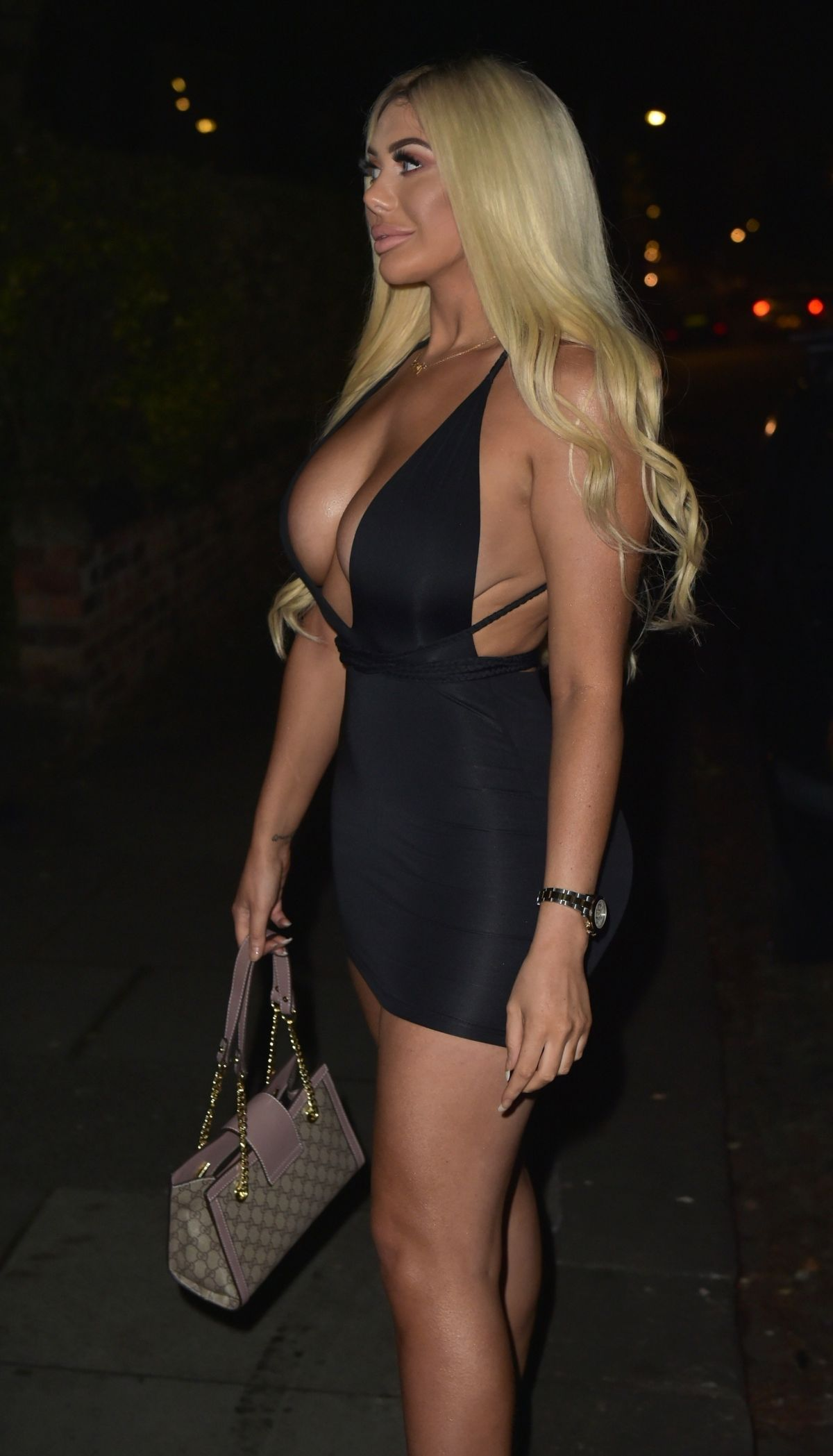 CHLOE FERRY Night Out in Newcastle 12/14/2018