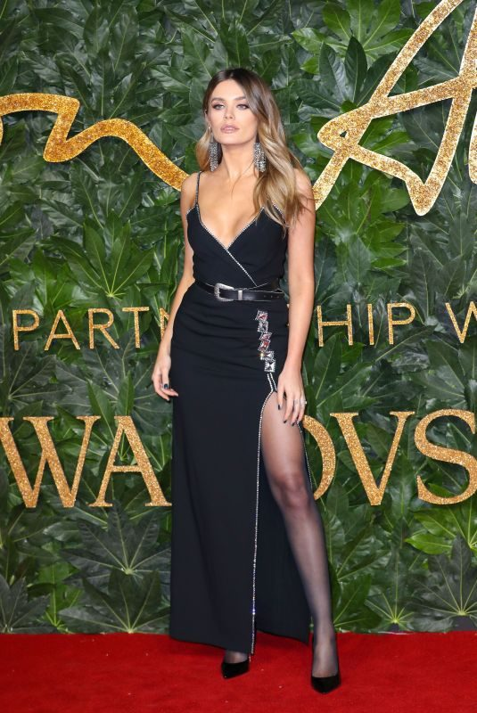CHLOE LLOYD at British Fashion Awards in London 12/10/2018