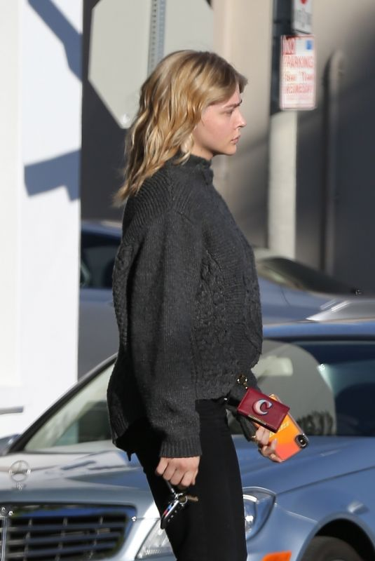 CHLOE MORETZ Out and About in Los Angeles 12/15/2018