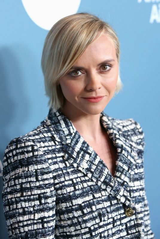 CHRISTINA RICCI at Hollywood Reporter's Power 100 Women in Entertainment in Los Angeles 12/05/2018