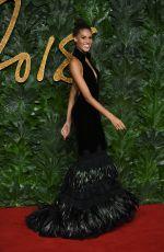 CINDY BRUNA at British Fashion Awards in London 12/10/2018