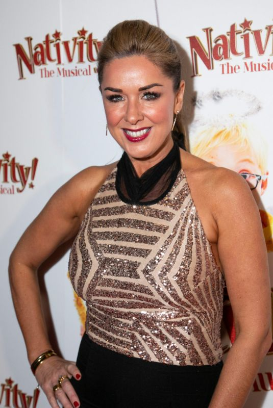 CLAIRE SWEENEY at Nativity! The Musical Gala Night in London 12/20/2018