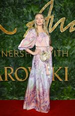CLARA PAGET at British Fashion Awards in London 12/10/2018