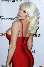 COURTNEY STODDEN at Jhrts Holiday Celebration in Hollywood 12/05/2018