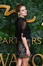 CRESSIDA BONAS at British Fashion Awards in London 12/10/2018