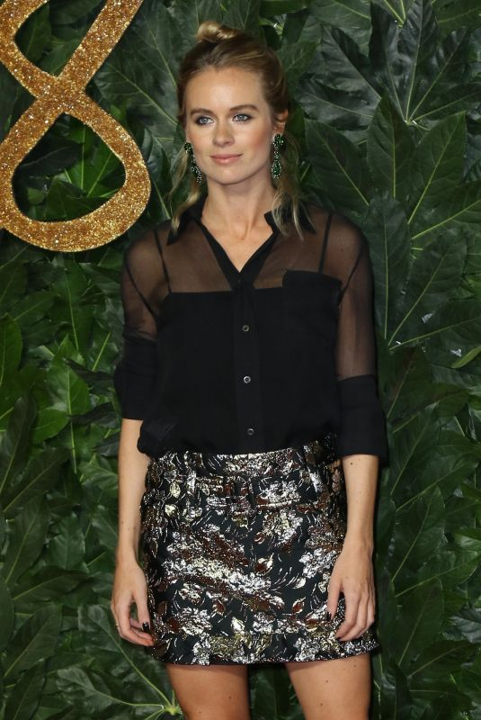 CRESSIDA BONAS at British Fashion Awards in London 12/10/2018
