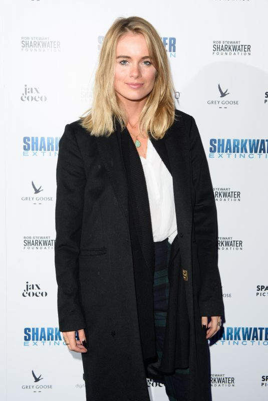 CRESSIDA BONAS at Sharkwater Extinction Premiere in London 12/18/2018