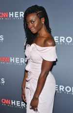 DANAI GURIRA at CNN Heroes: An All Star Tribute in New York 12/09/2018