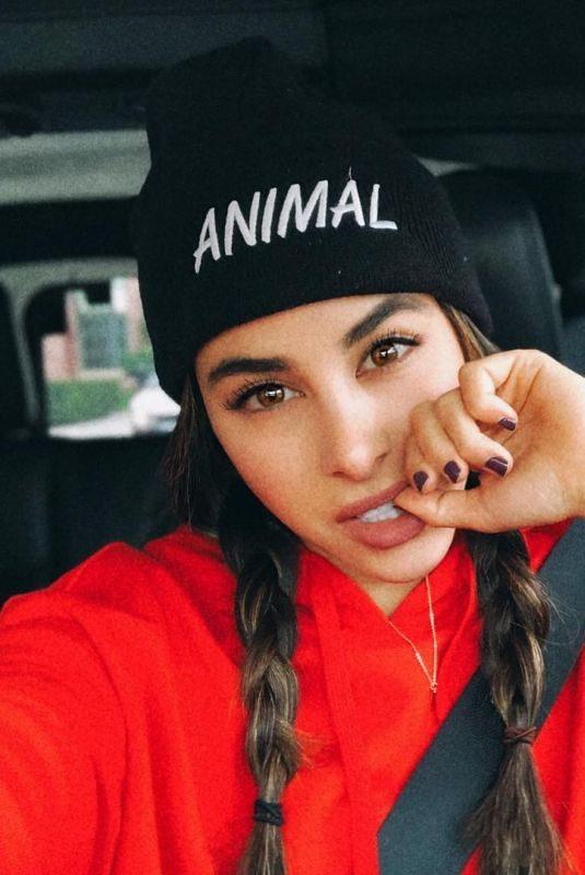 DANIELLA MONET – Instagram Pictures December 2018