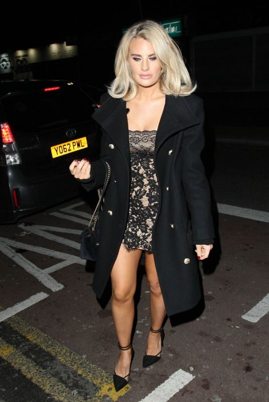 DANIELLE ARMSTRONG at Faces Nightclub in Essex 12/22/2018