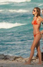 DANIELLE KNUDSON in Bikini at a Beach in Miami 12/07/2018