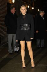 DIANE KRUGER Leaves at Late Show with Stephen Colbert in New York 12/13/2018
