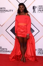 DINA ASHER-SMITH at BBC Sports Personality of the Year 2018 Awards in Birmingham 12/16/2018