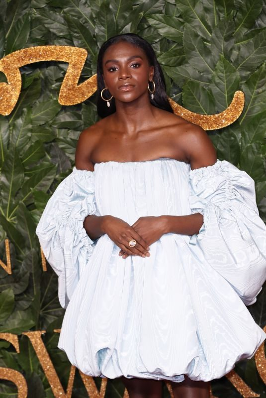 DINA ASHER-SMITH at British Fashion Awards in London 12/10/2018