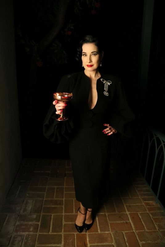 DITA VON TEESE at The American Meme Special Screening After-party in Los Angeles 12/04/2018