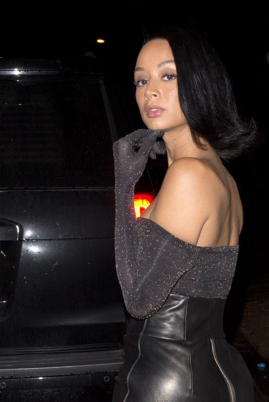 DRAYA MICHELE at Delilah in West Hollywood 11/29/2018