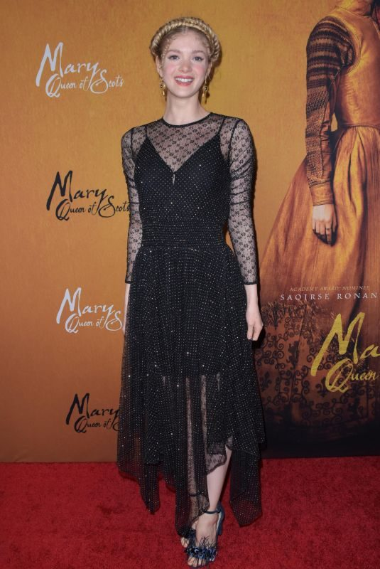 ELENA KAMPOURIS at Mary Queen of Scots Premiere in New York 12/04/2018