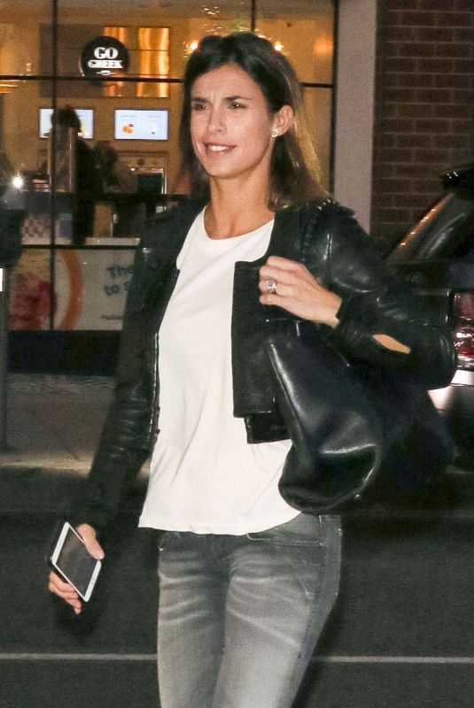 ELISABETTA CANALIS Out Shopping in Beverly Hills 12/11/2018