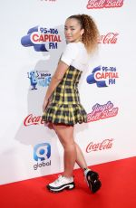 ELLA EYRE at Capital FM Jingle Bell Ball in London 12/09/2018