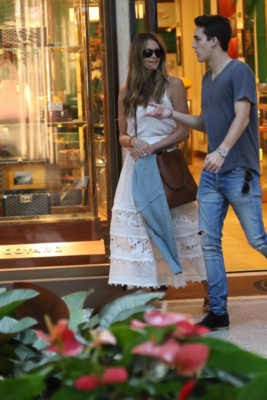 ELLE MACPHERSON Out Shopping in Bal Harbour 12/24/2018