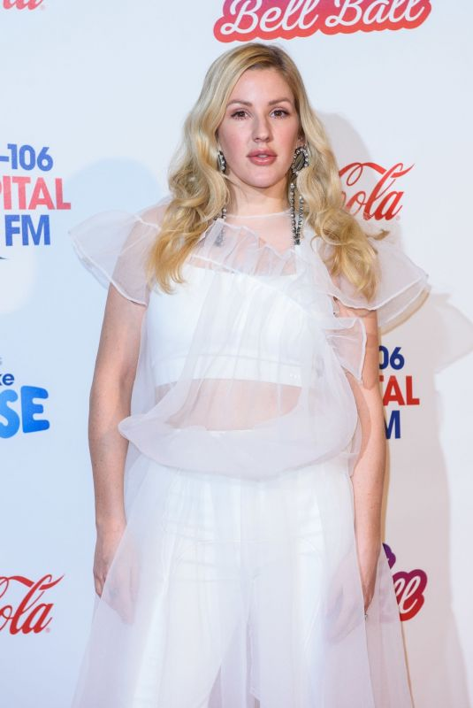 ELLIE GOULDING  at Capital FM Jingle Bell Ball in London 12/08/2018