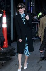 EMILY MORTIMER Arrives at Good Morning America in New York 12/10/2018