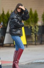 EMILY RATAJKOWSKI Out and About in New York 12/10/2018