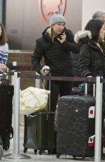 EMILY VANCAMP at Airport in Toronto 12/27/2018