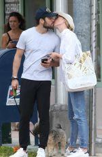 EMILY VANCAMP on Honeymoon in Miami 12/22/2018