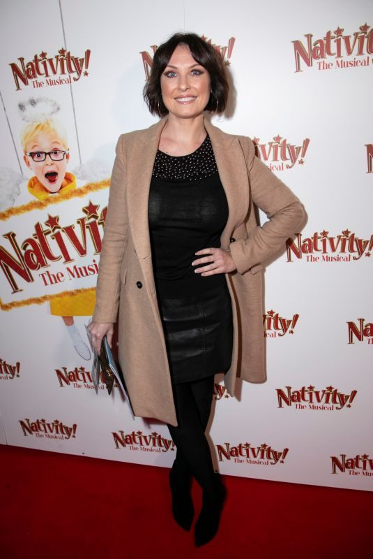 EMMA BARTON at Nativity! The Musical Gala Night in London 12/20/2018