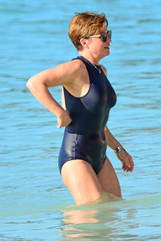 EMMA ROBERTS in Swimsuit in Barbados 12/28/2018