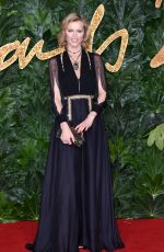 EVA HERZIGOVA at British Fashion Awards in London 12/10/2018