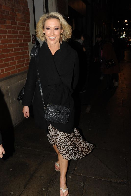 FAYE TOZER Leaves Strictly Come Dancing Rehearsals in London 12/06/2018