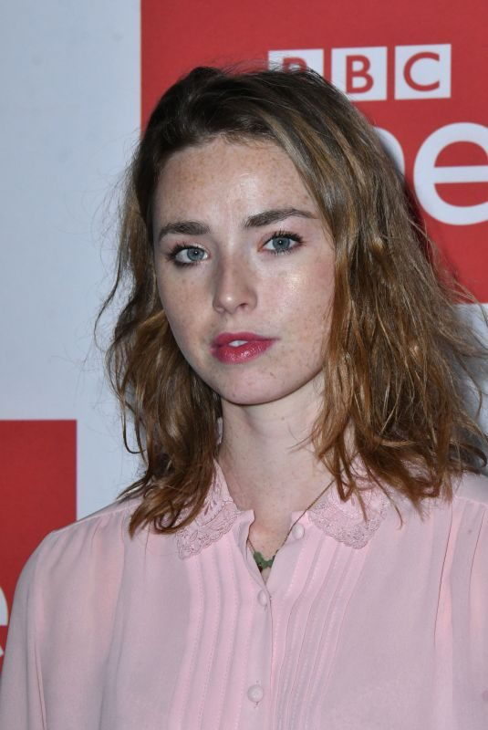 FREYA MAVOR at Murders TV Show Screening in London 12/13/2018