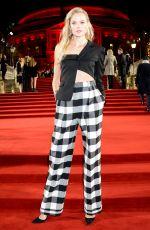 GABRIELLA WILDE at British Fashion Awards in London 12/10/2018