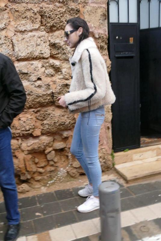 GAL GADOT Leaves Her Home in Tel Aviv 12/30/2018